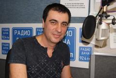 Виктор Чайка в студии