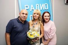 Валерия, Иосиф Пригожин и ведущая Радио Дача Наталья Селихова