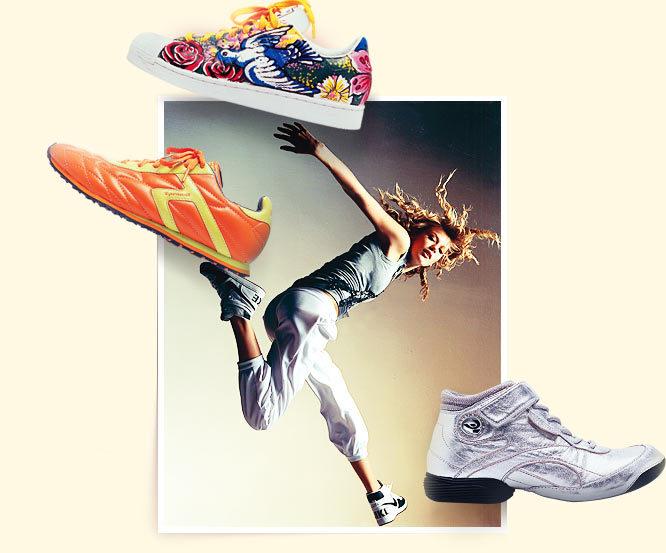Подскажите, пожалуйста, как выбрать спортивную обувь?