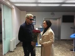 Николай Басков и Анна Межова