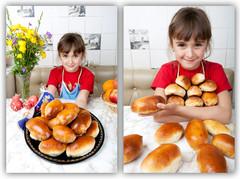 Дачник месяца - Денисова Ольга. Пирожки с картошкой