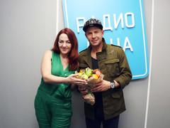 Ведущая Радио Дача Наталья Селихова и Митя Фомин
