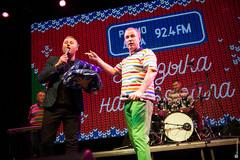 Ведущий Радио Дача Денис Чудаев и Виктор Рыбин