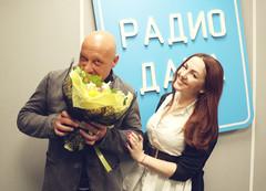 Денис Майданов и ведущая Радио Дача Наталья Селихова