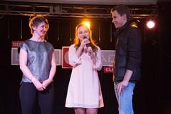 Ведущая Радио Дача Юлия Насонова с гостями вечеринки Disco Дача