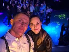 Ведущая Радио Дача Юлия Насонова и Алекс Малиновский