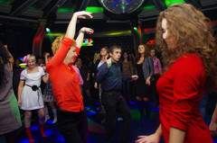 День почтальона на вечеринке Disco Дача