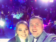 Гузель Хасанова и ведущий Радио Дача Денис Чудаев