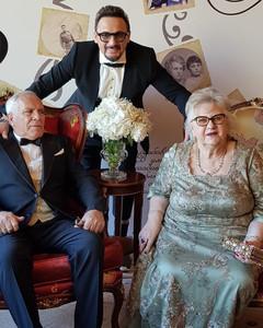 Стас Михайлов с родителями