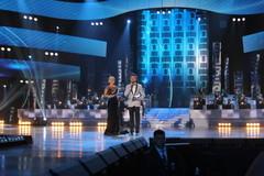 Песня Года 2012. Ведущие вечера - Лера Кудрявцева и Сергей Лазарев