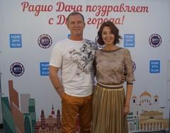 Виктор Рыбин и Наталья Сенчукова
