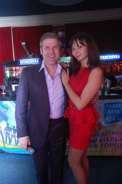 Вечеринка DISCO ДАЧА в клубе LeninGrad. Андрей Бандера и Рада Рай