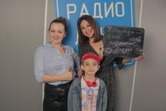 Наталья Селихова и Согдиана с сыном