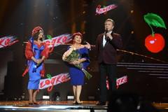 Наташа Королева с мамой Людмилой Порывай и Лев Лещенко