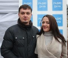 Ведущие мероприятия - Денис Левашов и Наталья Селихова