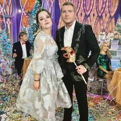 Наталия Медведева и Николай Басков