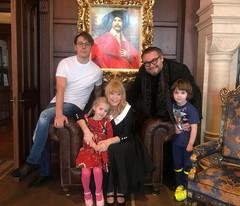 Александр Васильев в гостях у Алла Пугачевой и Максима Галкина
