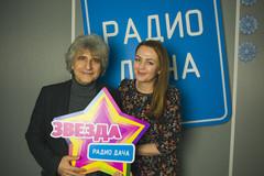 Симон Осиашвили и ведущая Радио Дача Наталья Селихова