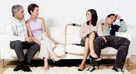 как проходило ваше знакомства с родителями