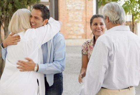 знакомство с родителями кто первый