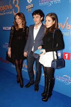 Юрий Жирков с супругой Инной и Юлия Аршавина
