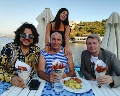 Филипп Киркоров, Николай Басков и Игорь Крутой с дочерью