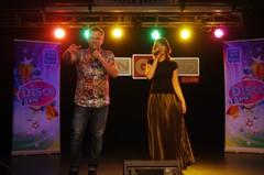 Вечеринка Disco Дача. Виктор Рыбин и Наталья Сенчукова