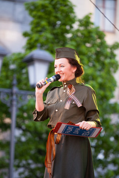 Концерт 9 мая. Наталья Селихова