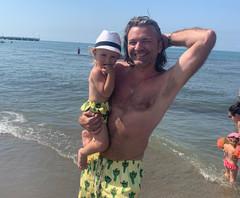 Дмитрий Маликов с сыном Марком