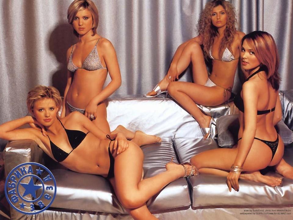 фото всех девочек из группы фабрика голые