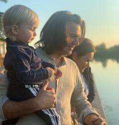 Дмитрий и Елена Маликовы с сыном Марком