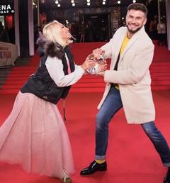 Лера Кудрявцева и Андрей Разыграев