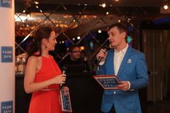 Ведущие вечеринки - Наталья Селихова и Денис Левашов