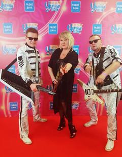 Маргарита Суханкина с музыкантами