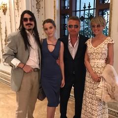 Леонид Агутин с семьей