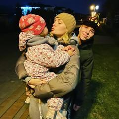 Полина Гагарина с детьми
