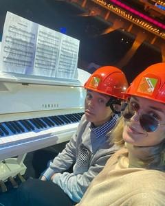 Полина Гагарина и ее сын