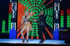 Натали и MC Doni на концерте Disco Дача 2015