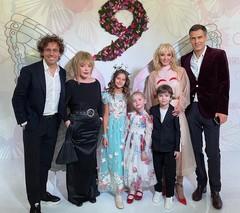 Кристина Орбакайте с семьей и дочкой Клавдией