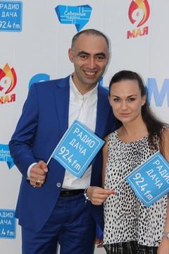 Зираддин Рзаев и Юлия Насонова