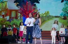 Виктор Рыбин и Наталья Сенчукова на концерте Радио Дача