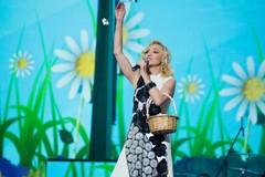 Кристина Орбакайте на концерте Радио Дача