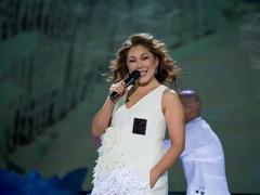 Анита Цой на концерте Радио Дача