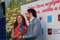 Ведущая Радио Дача Наталья Селихова и Авраам Руссо