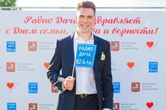 Дмитрий Дюжев на концерте Радио Дача