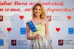 Полина Скай на концерте Радио Дача