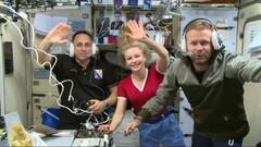 Съемочная группа на МКС